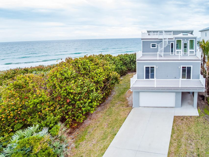 Single Family Home for Sale at 6105 Highway A1a Melbourne Beach, Florida 32951 United States