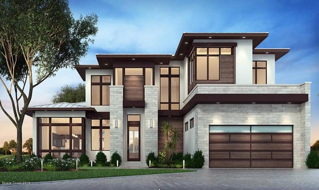 Enfamiljshus för Försäljning vid 3315 Highway A1a Melbourne Beach, Florida 32951 Usa