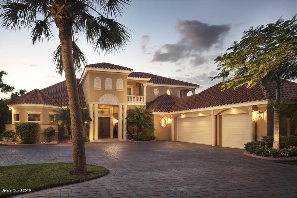 Single Family Home for Sale at 3680 Grande Bay Melbourne Beach, Florida 32951 United States