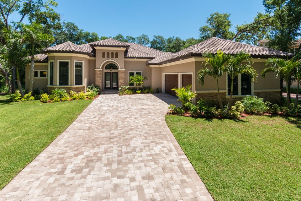 Single Family Home for Sale at 60 Hill Top 60 Hill Top Rockledge, Florida 32955 United States