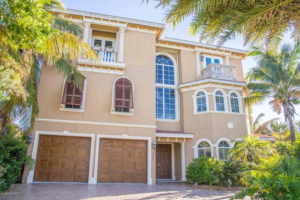 Enfamiljshus för Försäljning vid 7797 Highway A1a Melbourne Beach, Florida 32951 Usa