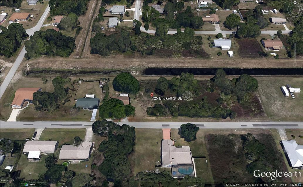 Land for Sale at 725 Brickell Palm Bay, Florida 32909 United States