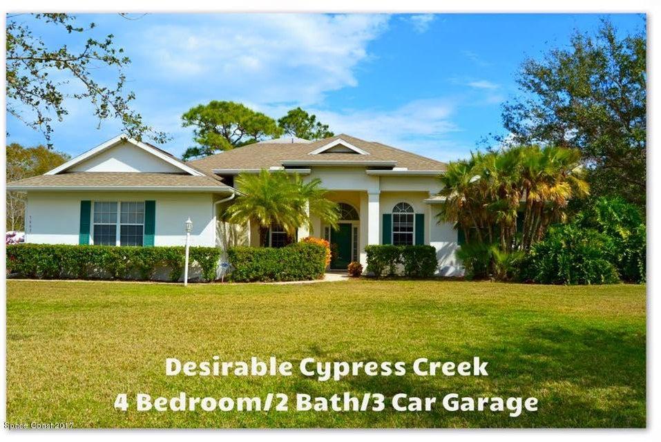 5663 Cypress Creek Drive, Grant Valkaria, FL 32949