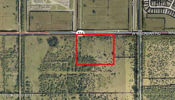 Земля для того Продажа на Malabar Palm Bay, Флорида 32907 Соединенные Штаты