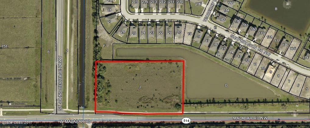 Land for Sale at Malabar Sr514 Malabar Sr514 Palm Bay, Florida 32907 United States