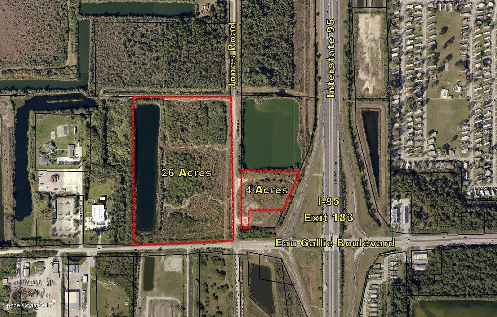 Land for Sale at NW Brevard Cty NW Brevard Cty Melbourne, Florida 32934 United States