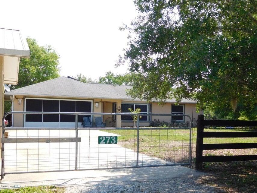 Vivienda unifamiliar por un Venta en 273 N Brooks Oak Hill, Florida 32759 Estados Unidos