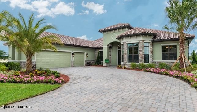 Maison unifamiliale pour l Vente à 3653 Rushing Waters West Melbourne, Florida 32904 États-Unis