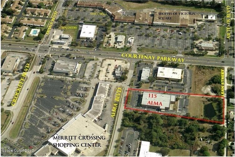 Commercial for Sale at 115 Alma Boulevard 115 Alma Boulevard Merritt Island, Florida 32953 United States