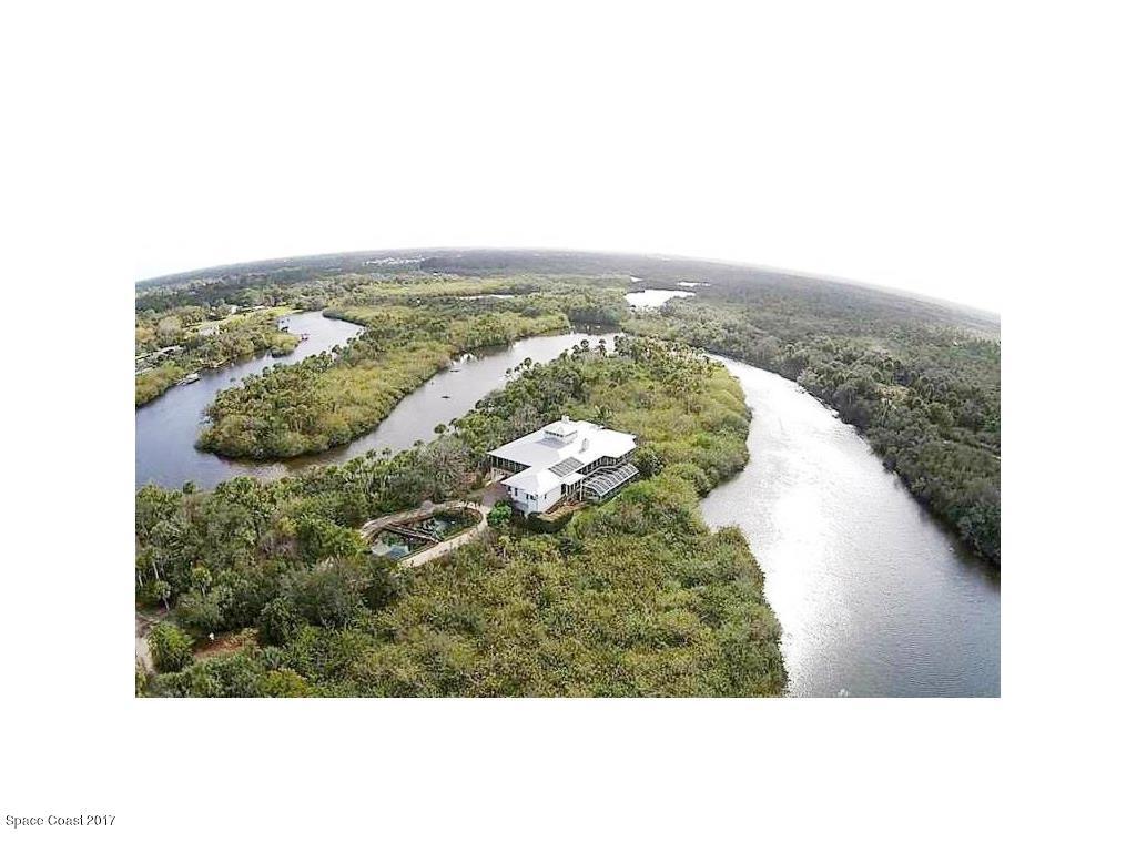 Maison unifamiliale pour l Vente à 11555 Roseland Sebastian, Florida 32958 États-Unis