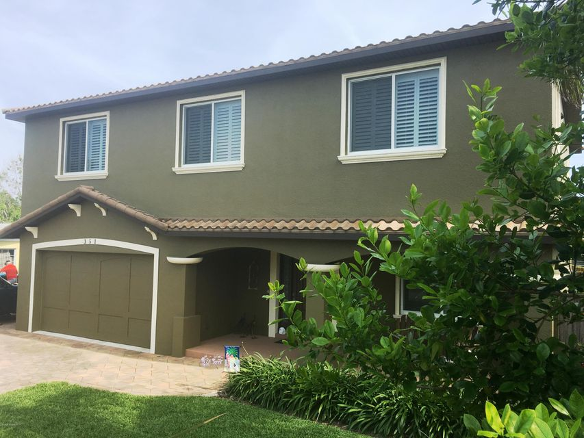 Maison unifamiliale pour l Vente à 351 Harbor Cape Canaveral, Florida 32920 États-Unis