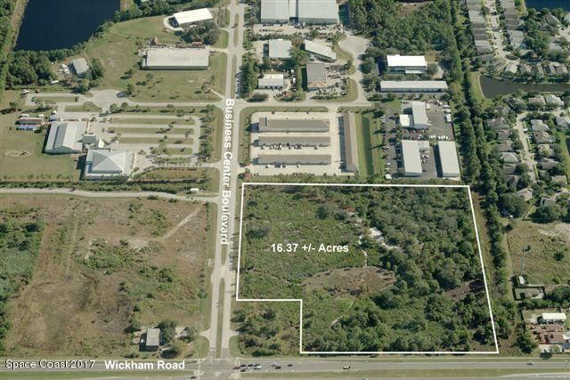 Land for Sale at Wickham & Business Center Melbourne, Florida 32935 United States