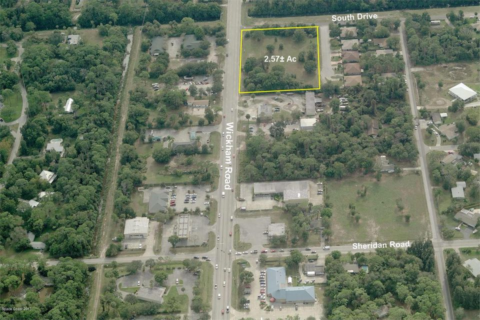 Land for Sale at 1240 S Wickham West Melbourne, Florida 32904 United States