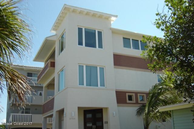Частный односемейный дом для того Аренда на 2729 S Atlantic Cocoa Beach, Флорида 32931 Соединенные Штаты