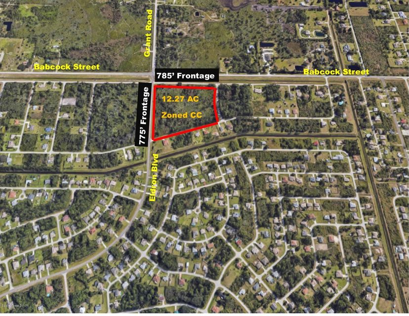 Land for Sale at 1655 Dewey 1655 Dewey Palm Bay, Florida 32909 United States
