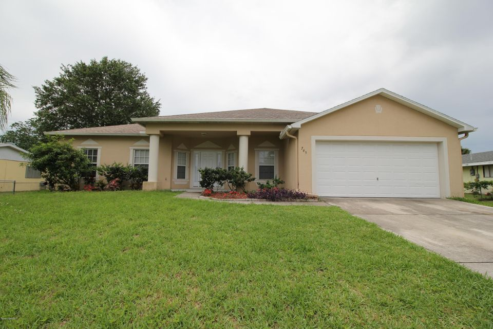 Single Family Home for Rent at 765 Fairhaven Palm Bay, Florida 32907 United States