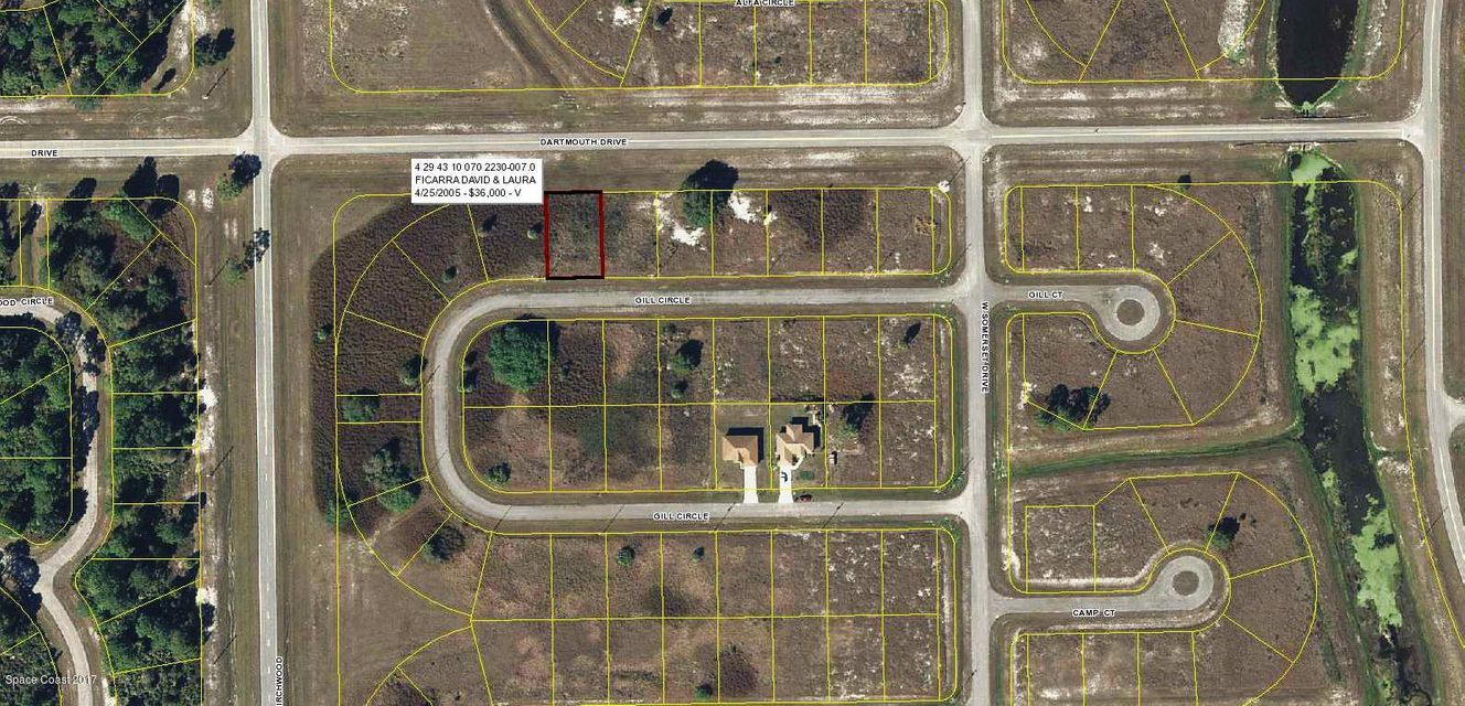 Land for Sale at 7013 Gill 7013 Gill Labelle, Florida 33935 United States