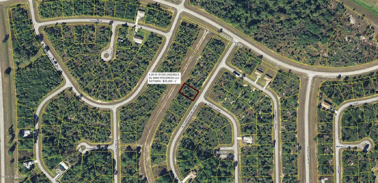 Land for Sale at 5043 W Hummingbird 5043 W Hummingbird Labelle, Florida 33935 United States