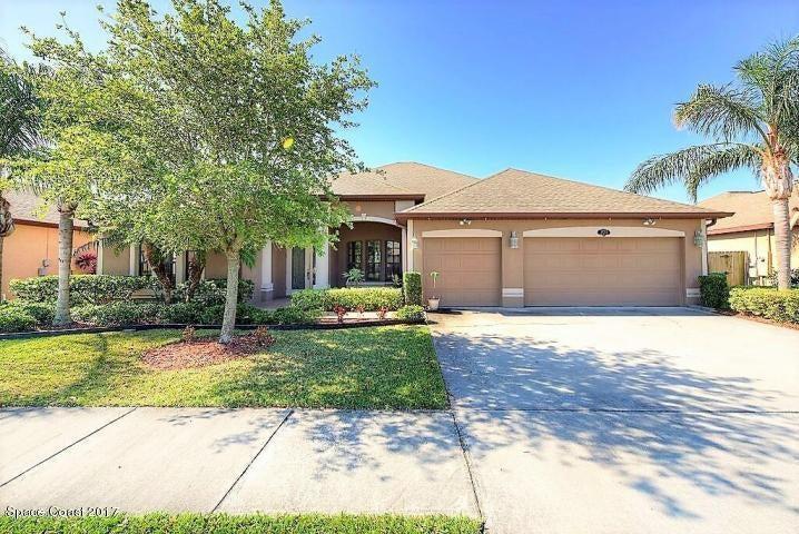 独户住宅 为 出租 在 1393 Bent Palm 梅里特岛, 佛罗里达州 32952 美国
