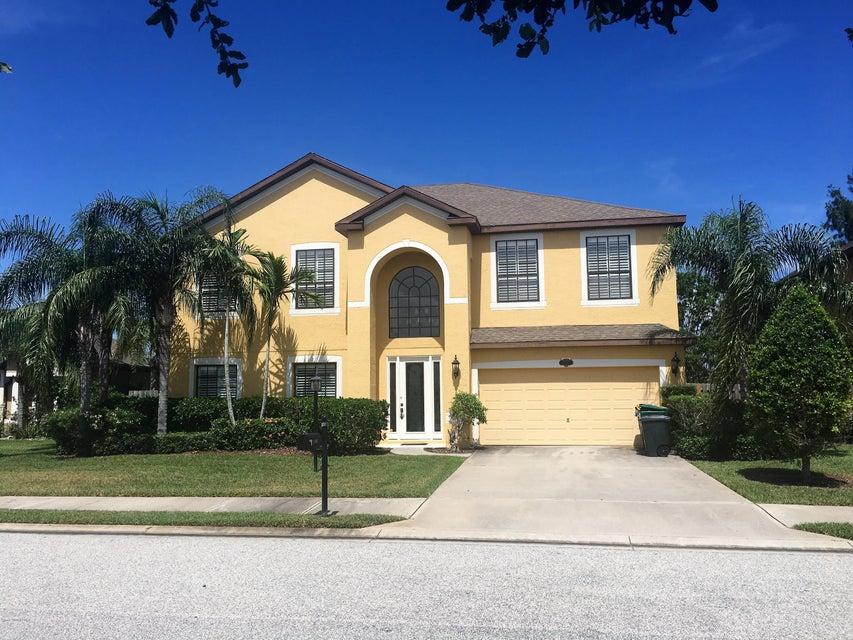 独户住宅 为 出租 在 1442 Bent Palm 梅里特岛, 佛罗里达州 32952 美国