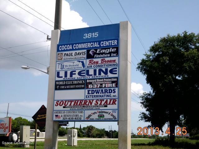 Comercial para Locação às 3815 N Highway 1 # 3815 N Highway 1 # Cocoa, Florida 32922 Estados Unidos