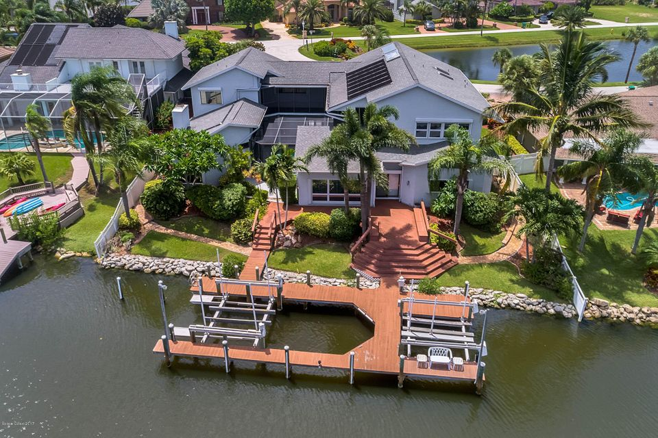 Tek Ailelik Ev için Satış at 835 Loggerhead Island 835 Loggerhead Island Satellite Beach, Florida 32937 Amerika Birleşik Devletleri