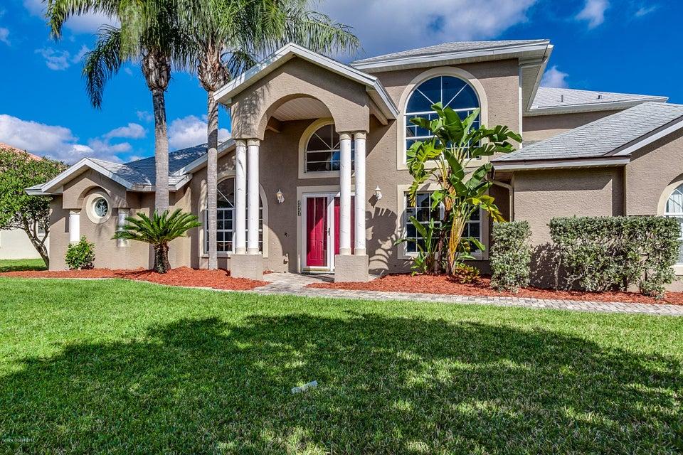 独户住宅 为 出租 在 460 Windtamer 梅里特岛, 佛罗里达州 32952 美国