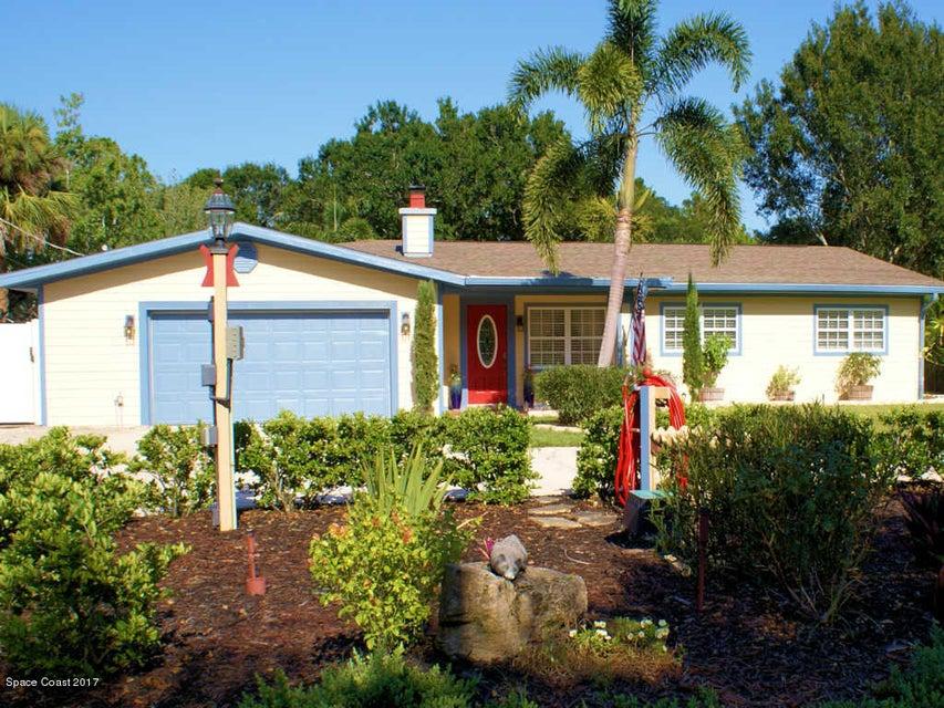Частный односемейный дом для того Продажа на 1415 Florence 1415 Florence Malabar, Флорида 32950 Соединенные Штаты