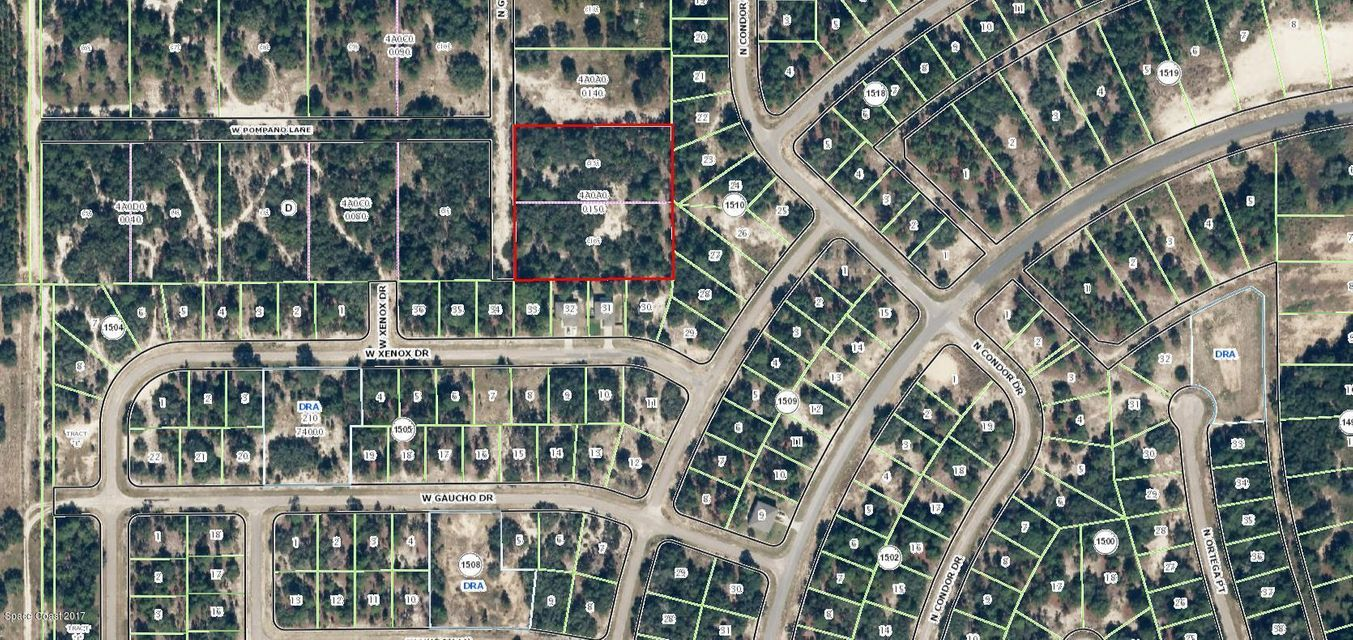 Land for Sale at 11535 N Glenview 11535 N Glenview Dunnellon, Florida 34433 United States