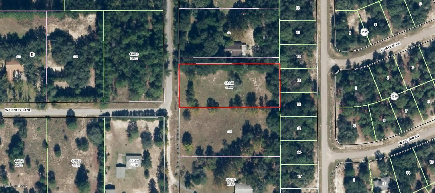 Land for Sale at 11703 N Glenview 11703 N Glenview Dunnellon, Florida 34433 United States