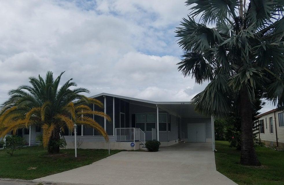 一戸建て のために 売買 アット 310 Papaya 310 Papaya Barefoot Bay, フロリダ 32976 アメリカ合衆国