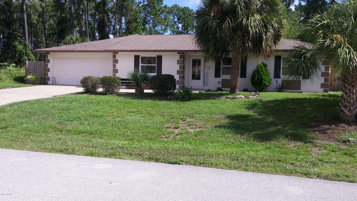 Casa Unifamiliar por un Venta en 59 Pony Express 59 Pony Express Palm Coast, Florida 32164 Estados Unidos