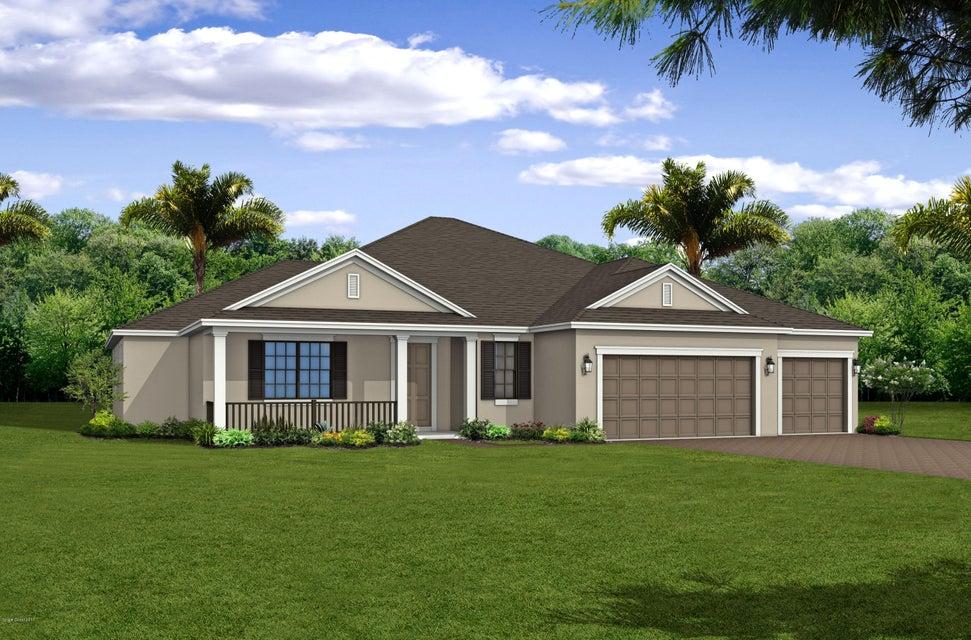 Частный односемейный дом для того Продажа на 7366 Millbrook 7366 Millbrook Viera, Флорида 32940 Соединенные Штаты