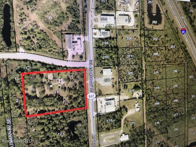 土地 为 销售 在 6672 Babcock 6672 Babcock Palm Bay, 佛罗里达州 32909 美国