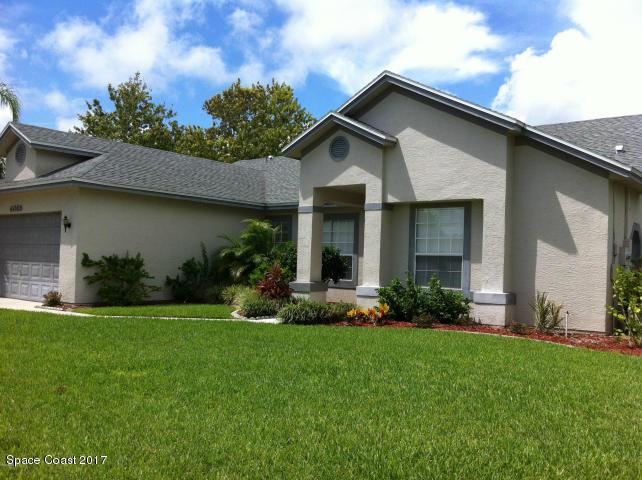 Частный односемейный дом для того Аренда на 4065 Savannahs 4065 Savannahs Merritt Island, Флорида 32953 Соединенные Штаты