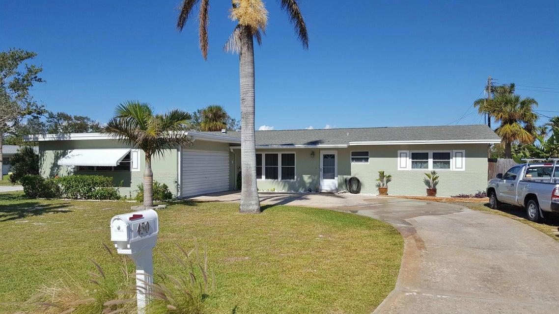 Maison unifamiliale pour l Vente à 450 Rosedale 450 Rosedale Satellite Beach, Florida 32937 États-Unis