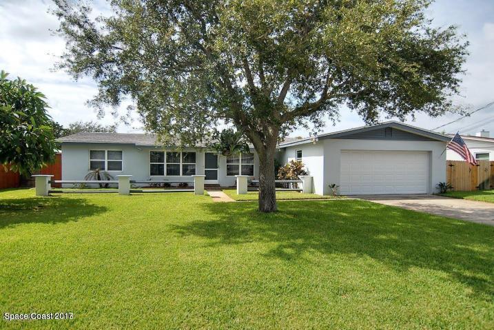 Einfamilienhaus für Mieten beim 450 Nautilus 450 Nautilus Satellite Beach, Florida 32937 Vereinigte Staaten