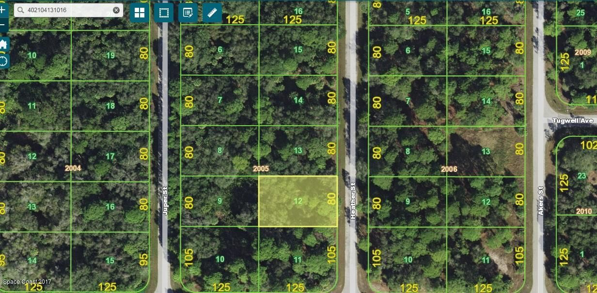 Land for Sale at 105 Heather 105 Heather Port Charlotte, Florida 33953 United States