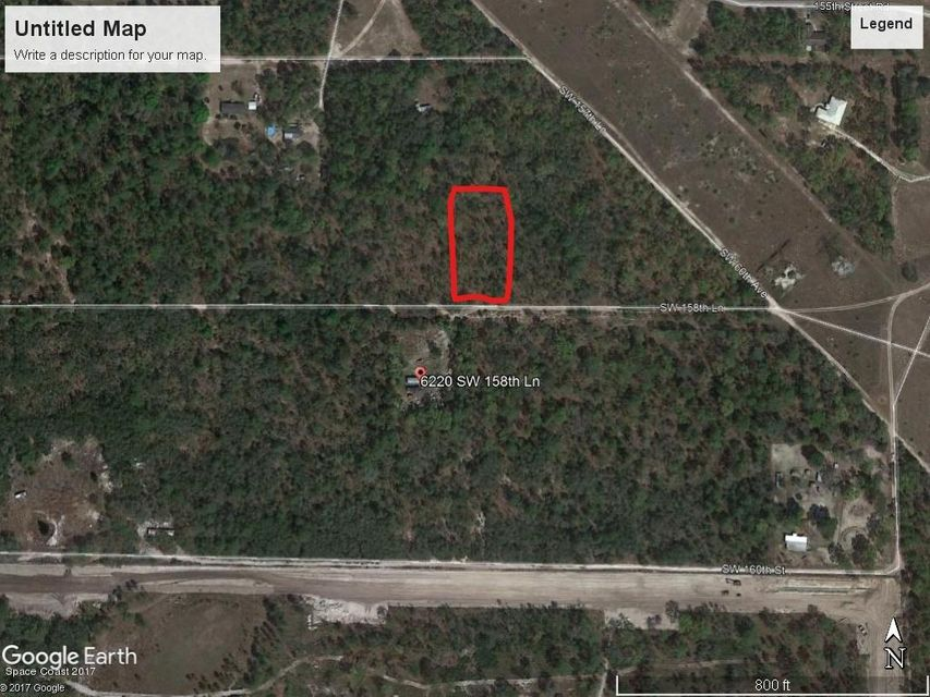 Terrain pour l Vente à SW 158th Lane Dunnellon, Fl 34432 SW 158th Lane Dunnellon, Fl 34432 Oklawaha, Florida 32179 États-Unis