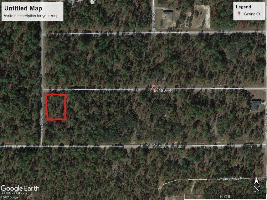 土地 のために 売買 アット NW Luna Ave. Dunnellon, Fl 34431 NW Luna Ave. Dunnellon, Fl 34431 Oklawaha, フロリダ 32179 アメリカ合衆国
