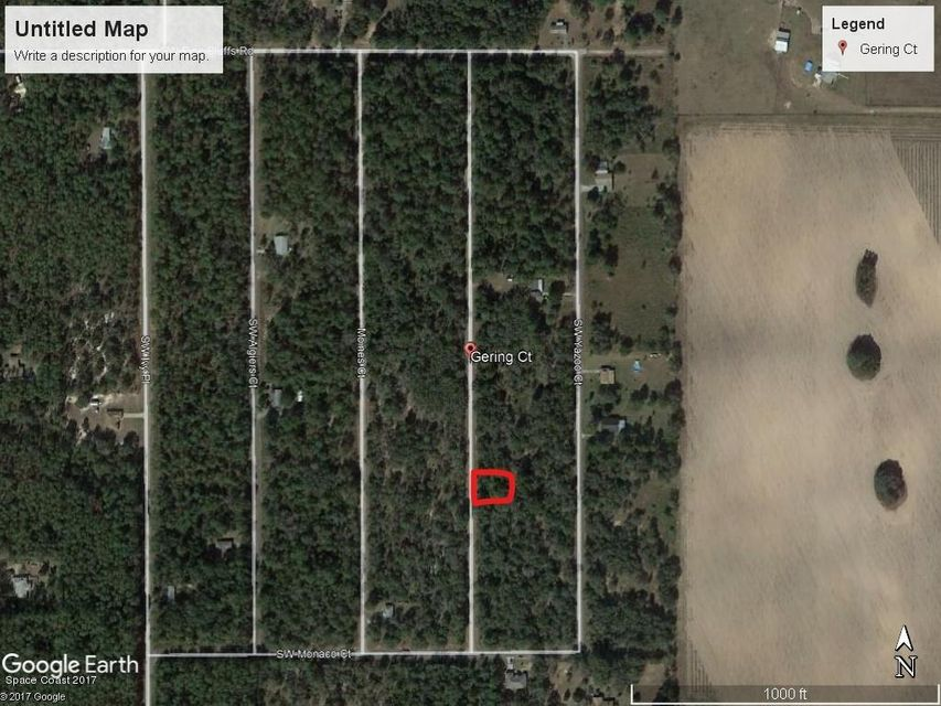 Land for Sale at Sw Gering Ct. Dunnellon, Fl Sw Gering Ct. Dunnellon, Fl Oklawaha, Florida 32179 United States