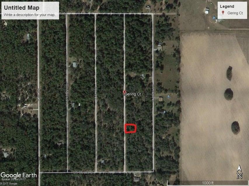 土地 為 出售 在 Sw Gering Ct. Dunnellon, Fl Sw Gering Ct. Dunnellon, Fl Oklawaha, 佛羅里達州 32179 美國