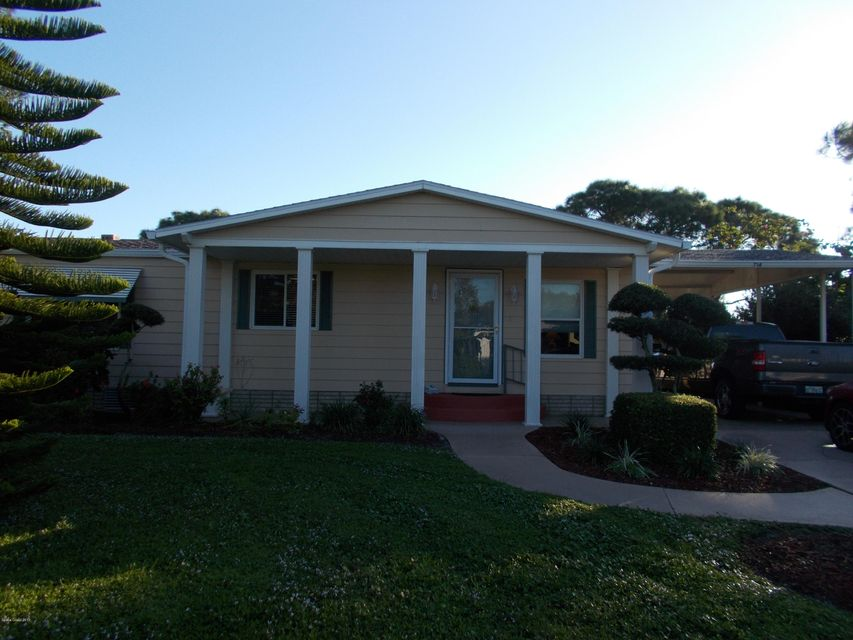 独户住宅 为 销售 在 714 Gladiolus 714 Gladiolus Barefoot Bay, 佛罗里达州 32976 美国
