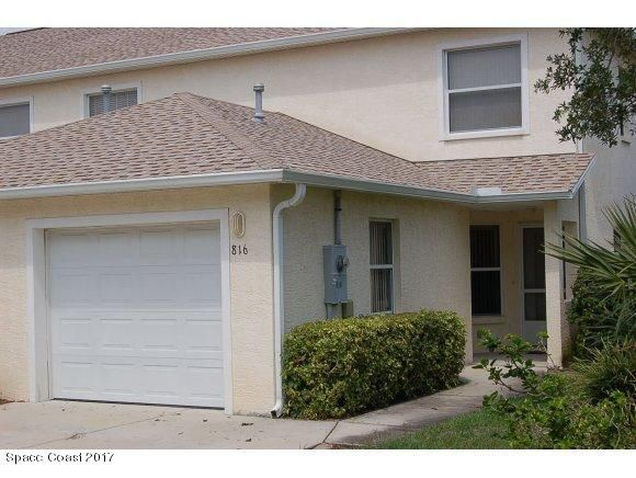 Single Family Home for Rent at 816 Mimosa 816 Mimosa Indian Harbour Beach, Florida 32937 United States