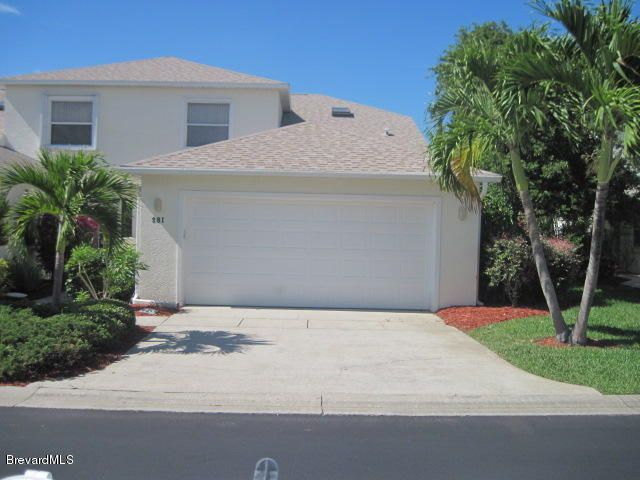 Single Family Home for Rent at 281 Coastal Hill 281 Coastal Hill Indian Harbour Beach, Florida 32937 United States