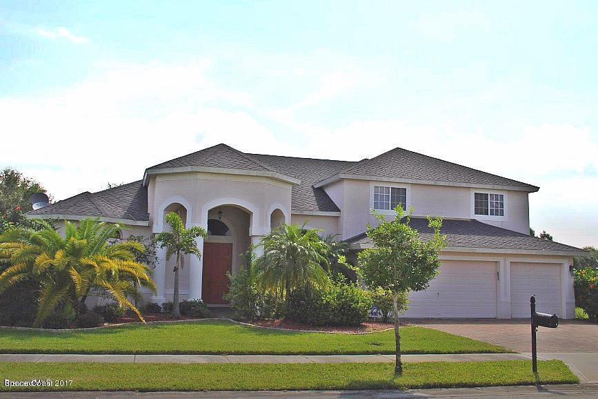 Enfamiljshus för Hyra vid 4536 Merlot 4536 Merlot Rockledge, Florida 32955 Usa
