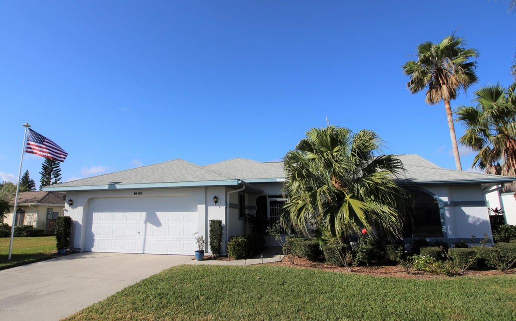Single Family Home for Sale at 1640 Independence 1640 Independence Melbourne, Florida 32940 United States