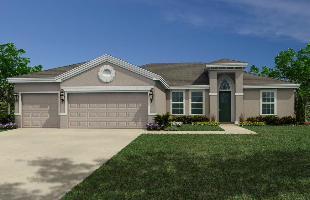 獨棟家庭住宅 為 出售 在 3350 Salt Marsh 3350 Salt Marsh West Melbourne, 佛羅里達州 32904 美國