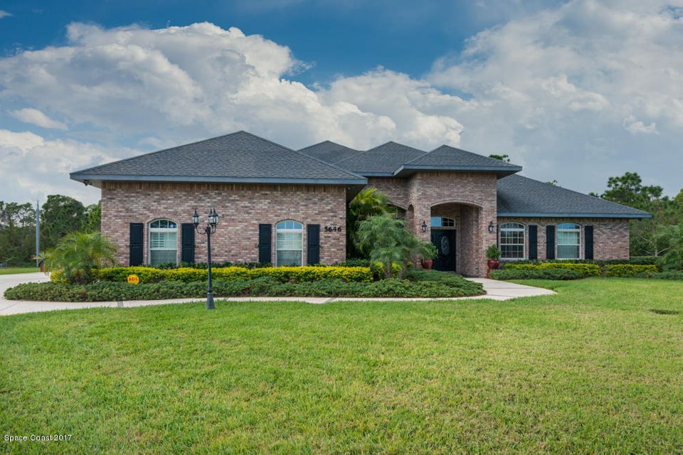 Single Family Home for Sale at 5646 Wood Stork 5646 Wood Stork Grant Valkaria, Florida 32949 United States