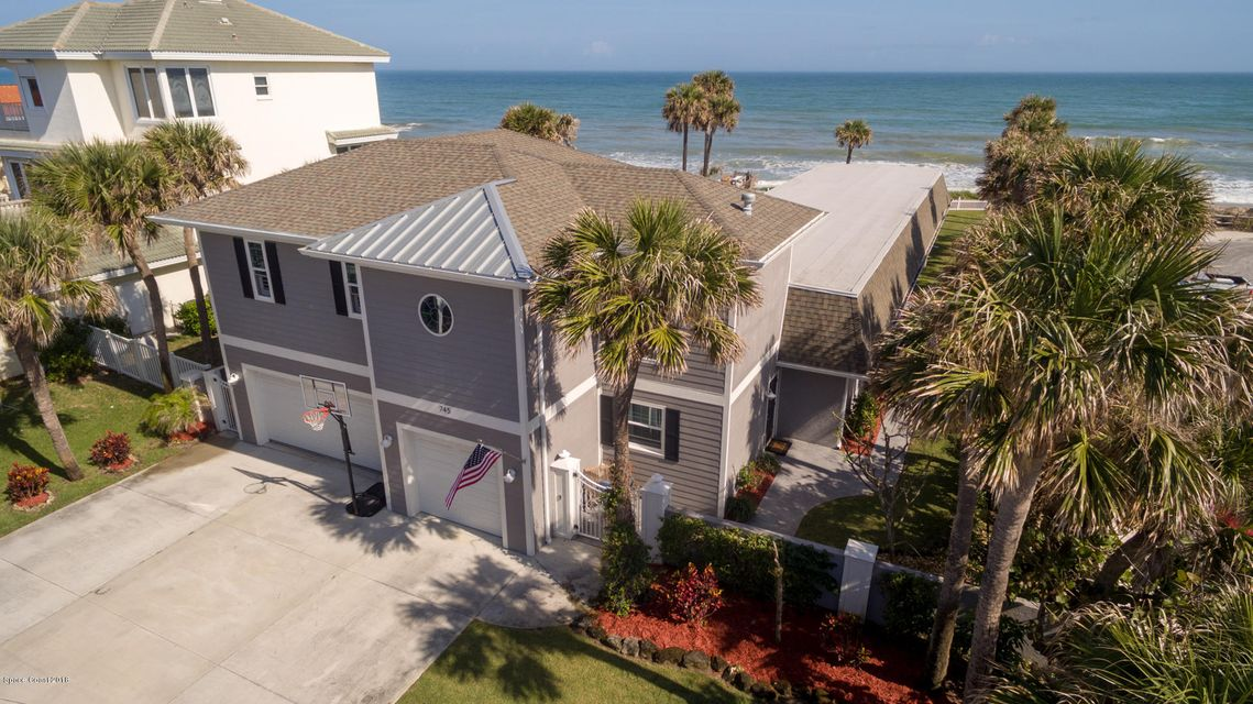 House for Sale at 745 Beach 745 Beach Satellite Beach, Florida 32937 United States